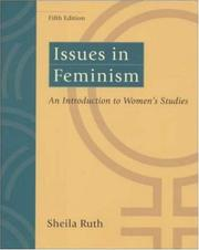 Issues in Feminism: An Introduction to Women's Studies