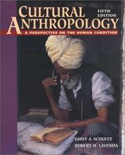 Cover of: Cultural Anthropology | Emily A. Schultz