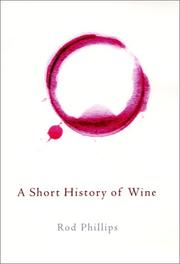 Cover of: A short history of wine