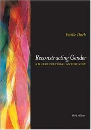 Cover of: Reconstructing gender |