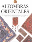 Cover of: Alfombras orientales