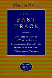 Cover of: The fast track