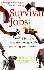 Cover of: Survival jobs | Deborah Jacobson