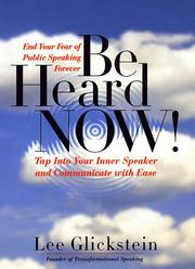 Cover of: Be heard now! | Lee Glickstein