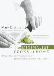 Cover of: The Minimalist Cooks at Home | Mark Bittman