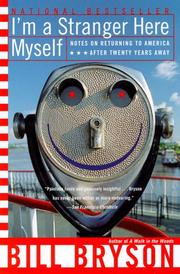 Cover of: I'm a stranger here myself: notes on returning to America after 20 years away