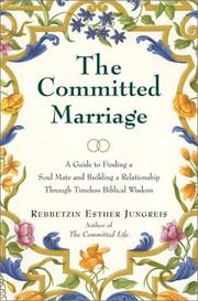 Cover of: The Committed Marriage | Esther Jungreis