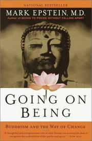 Cover of: Going On Being | Mark Epstein