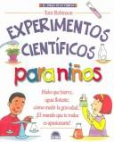 Cover of: Experimentos cientificos para ninos / The Everything Kids' Science Experiments Book
