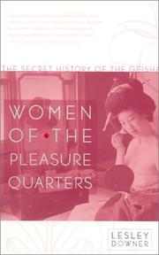 Cover of: Women of the Pleasure Quarters
