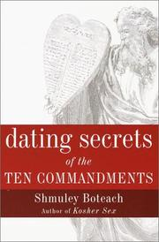 Cover of: Dating secrets of the Ten Commandments