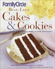 Cover of: Family Circle Best-Ever Cakes & Cookies