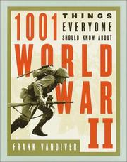 Cover of: 1001 things everyone should know about World War II