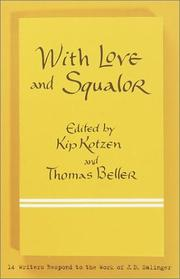 Cover of: With love and squalor |