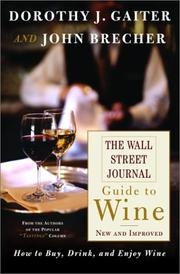 Cover of: The Wall Street Journal guide to wine
