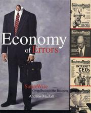 Cover of: Economy of Errors | Andrew Marlatt
