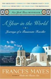 Cover of: A year in the world: Journeys of A Passionate Traveller