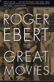 Cover of: The Great Movies | Roger Ebert