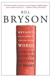 Cover of: Bryson's Dictionary of Troublesome Words
