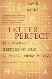 Cover of: Letter perfect