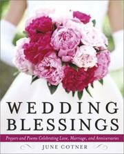 Cover of: Wedding Blessings | June Cotner