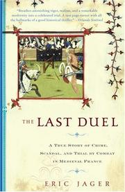 Cover of: The Last Duel | Eric Jager
