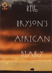 Cover of: Bill Bryson's African Diary