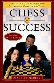 Cover of: Chess for Success