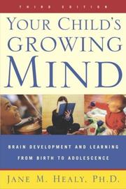 Cover of: Your Child's Growing Mind