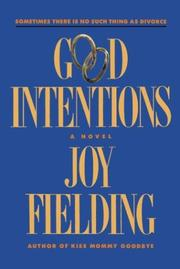 Cover of: Good Intentions