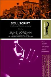 Cover of: Soulscript