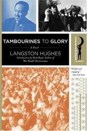 Cover of: Tambourines to Glory | Langston Hughes