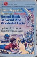 Cover of: Encyclopedia Brown's second record book of weird and wonderful facts