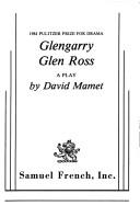 Cover of: Glengarry Glen Ross: a play