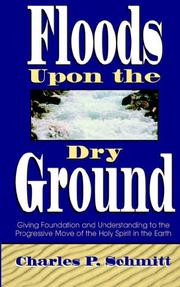 Cover of: Floods upon the dry ground