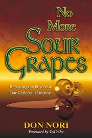 Cover of: No more sour grapes