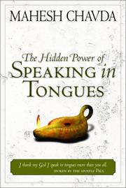 Cover of: Hidden Power of Speaking in Tongues