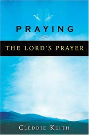 Cover of: Praying the Lord