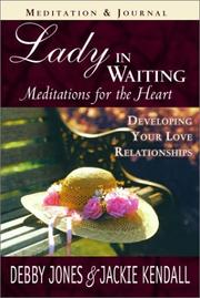 Cover of: Lady in Waiting Meditation | Debby Jones
