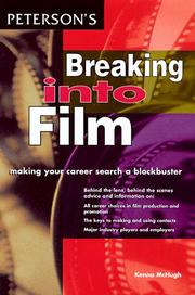 Cover of: Breaking into Film (Breaking Into) | Peterson