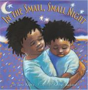 Cover of: In the small, small night