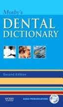 Cover of: Mosby's dental dictionary by