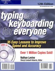 Cover of: Typing and keyboarding for everyone