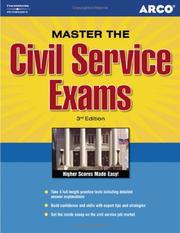 Cover of: Master the Civil Service Exam