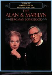 Cover of: The Alan & Marilyn Bergman Songbook |