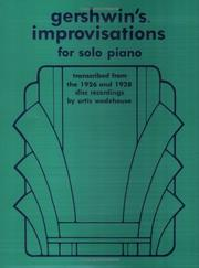 Cover of: Gershwin's Improvisations for Solo Piano