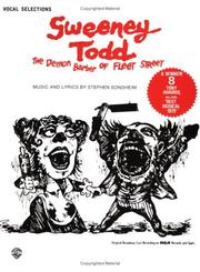 Cover of: Sweeney Todd - Vocal Selections
