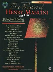 Cover of: The Music of Henry Mancini, Plus One