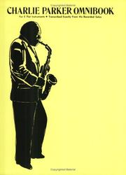 Cover of: Charlie Parker Omnibook for E Flat Instruments