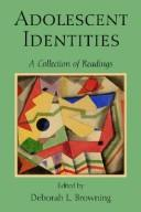 Cover of: Adolescent identities